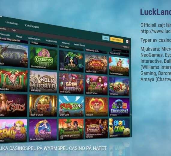 jeux bonus luckland